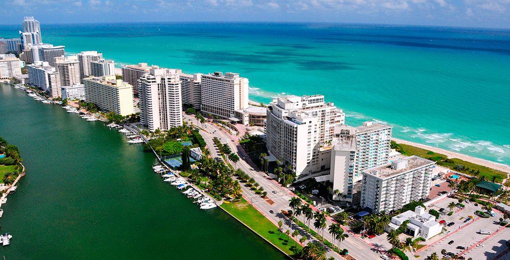 Llegaréis a Miami, antes de partir a Bahamas