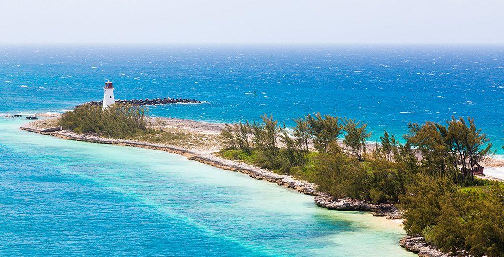 Impresionantes colores de Nassau
