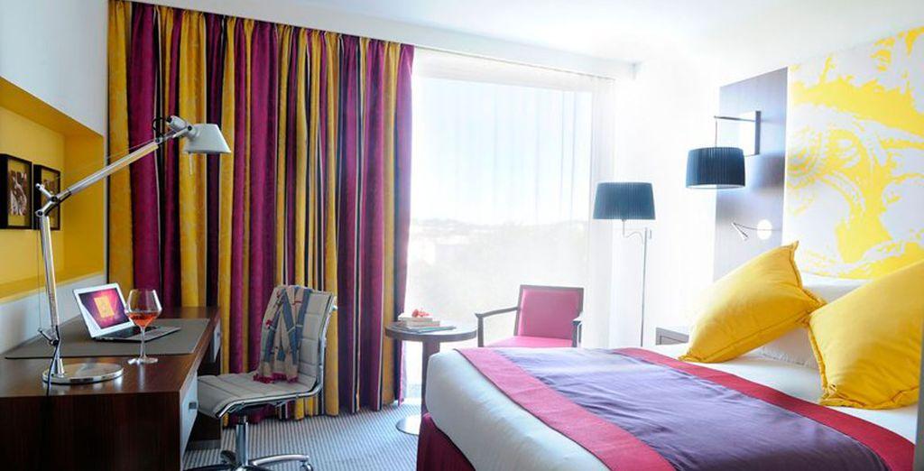 Cada habitación tiene un diseño diferente