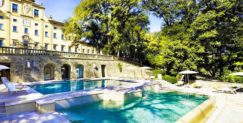 Bienvenido al hotel Villa Le Maschere 5*