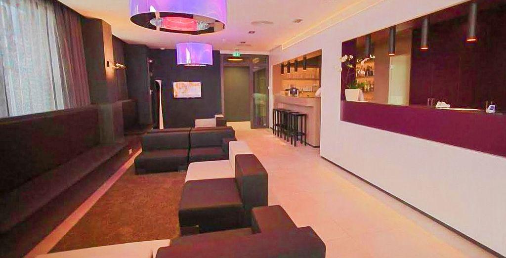 En Frankfurt te alojarás en el Hotel Bliss 4 *...