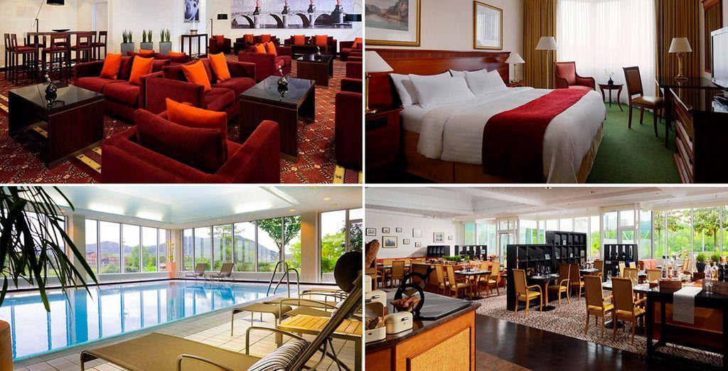 El confortable Heidelberg Marriott Hotel 4*