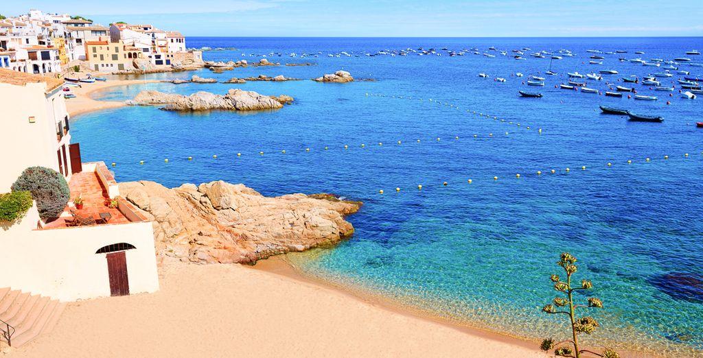 Descubre las playas de Calella o escápate a Malgrat de Mar