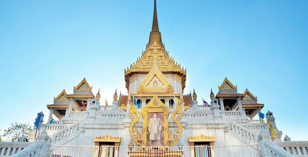 Visitarás el Templo Wat Trimitr