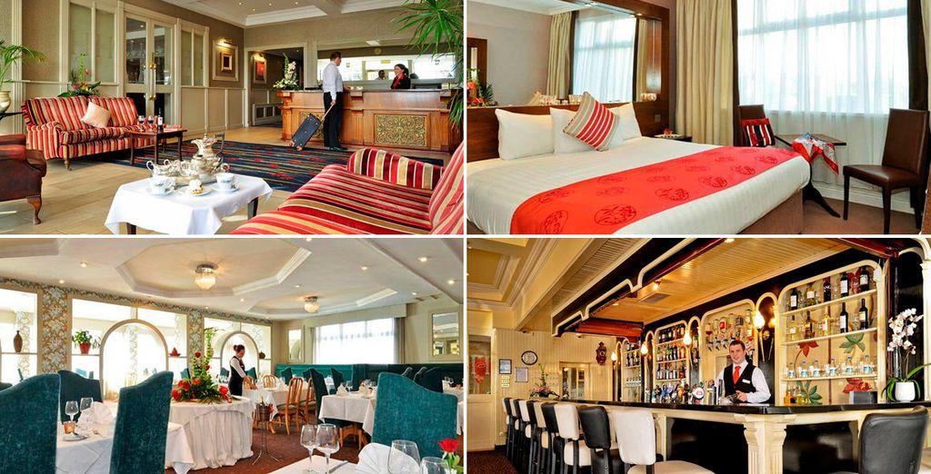 En Galway te alojarás en el Flannery's Hotel 3*