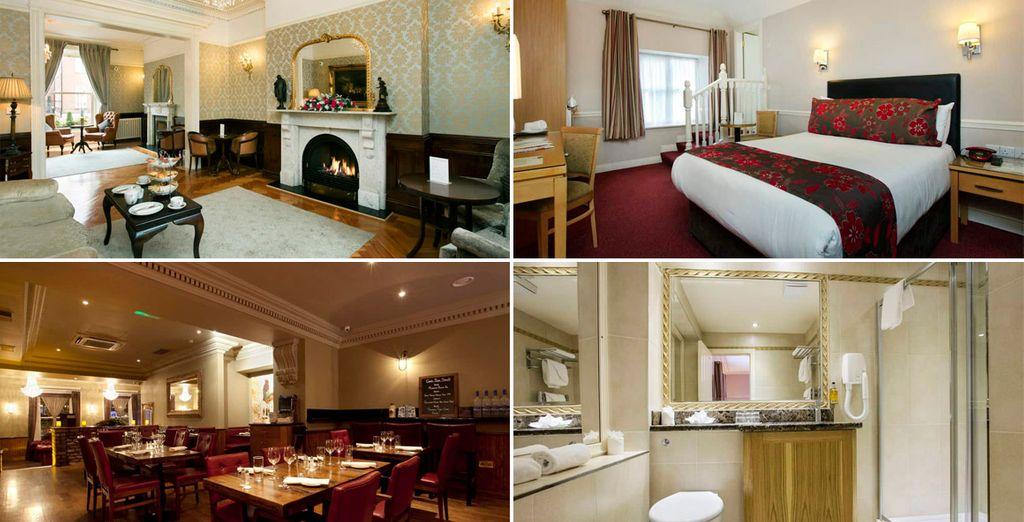 Te alojarás en el Harcourt Hotel 3*, Dublín