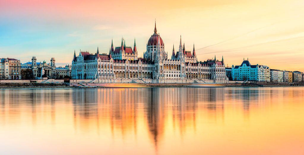 Continuaréis el viaje hacia Budapest