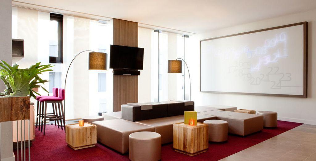 Te alojarás en el maravilloso hotel Arcona Living Schaffhausen