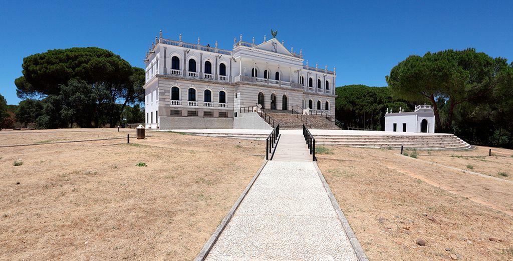 Descubre lugares como el Palacio de Acebrón