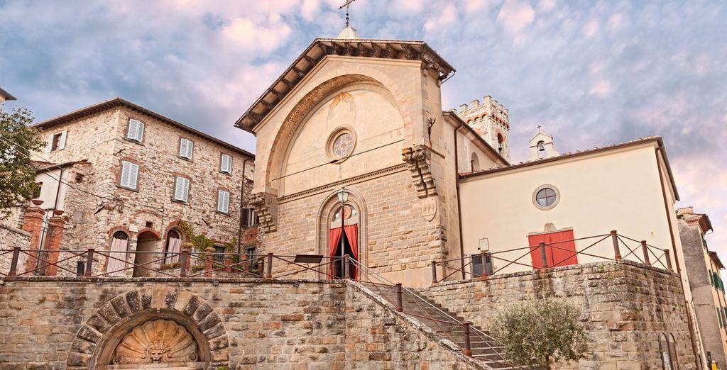 Visita la iglesia de San Niccolò