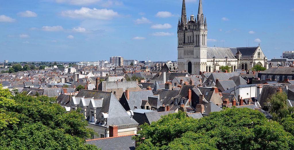 Conocerás la ciudad de Angers