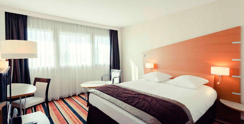Descansarás en una habitación ideal