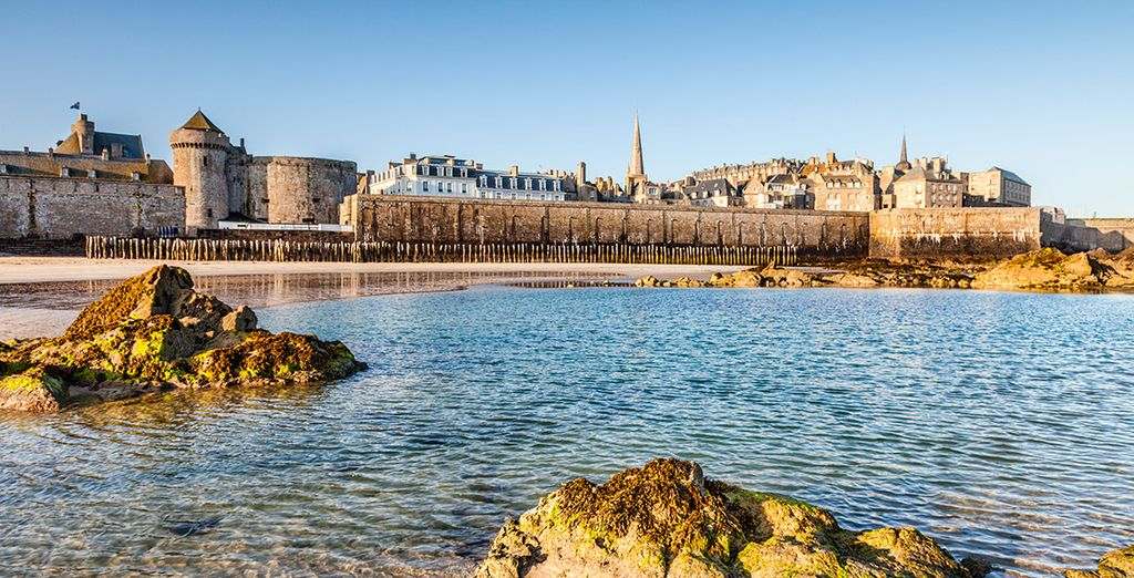 Visita Saint Malo, la joya de la Costa Esmeralda