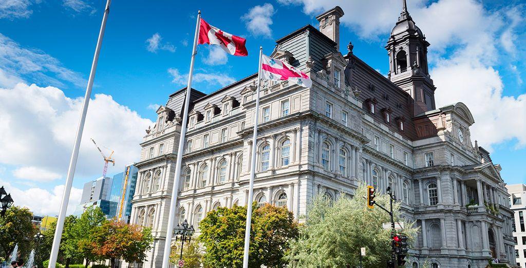 Comenzaréis el recorrido en Montreal, la segunda ciudad francófona más grande del mundo