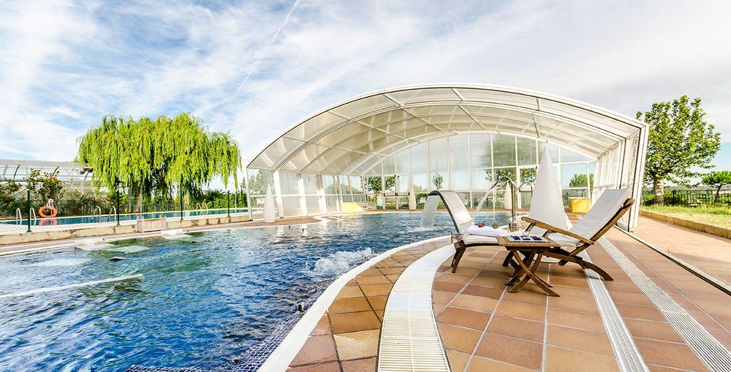 El hotel Doña Brígida se encuentra en el interior del Salamanca Forum Resort 4* y esconde grandes tesoros