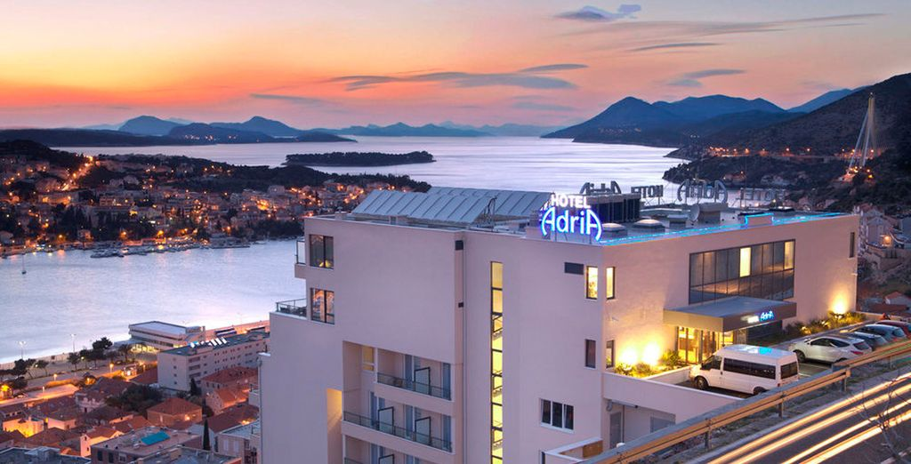 En Dubrovnik podrás alojarte en el hotel Adria 4*