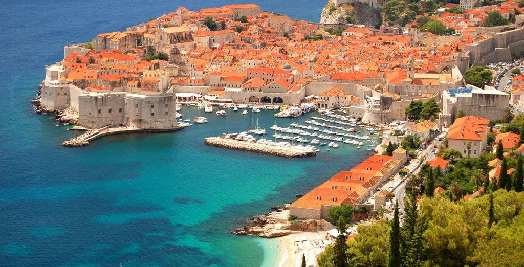 Dubrovnik es una de las joyas de este viaje y tu primer destino