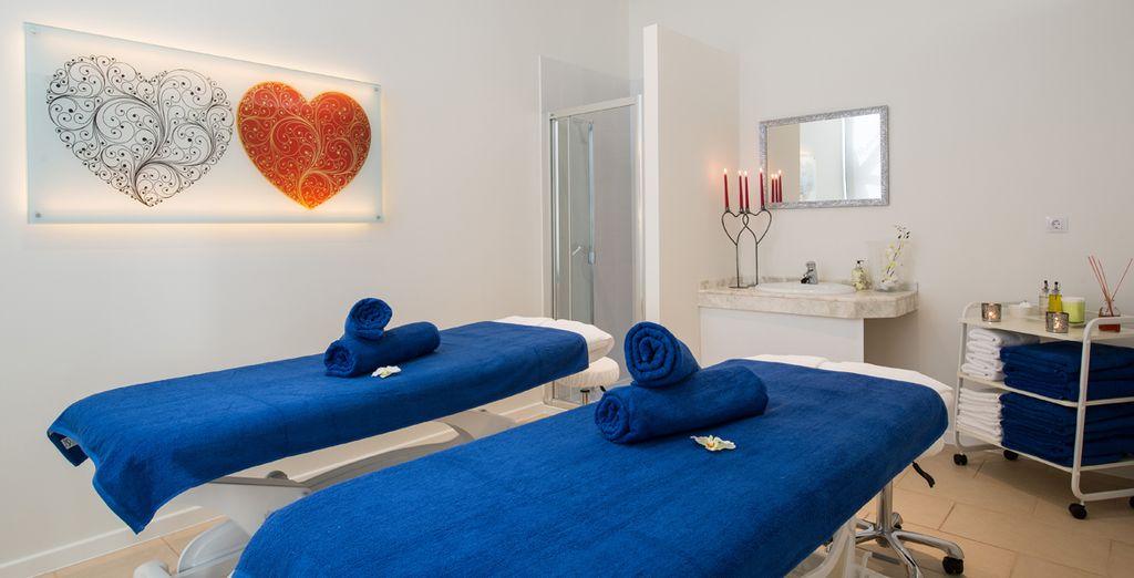 Déjate mimar en el Beauty Center con tratamientos corporales y masajes