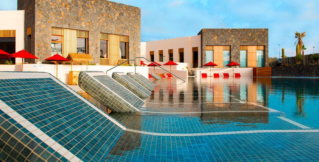 Está situado en el extremo norte de la isla de Fuerteventura