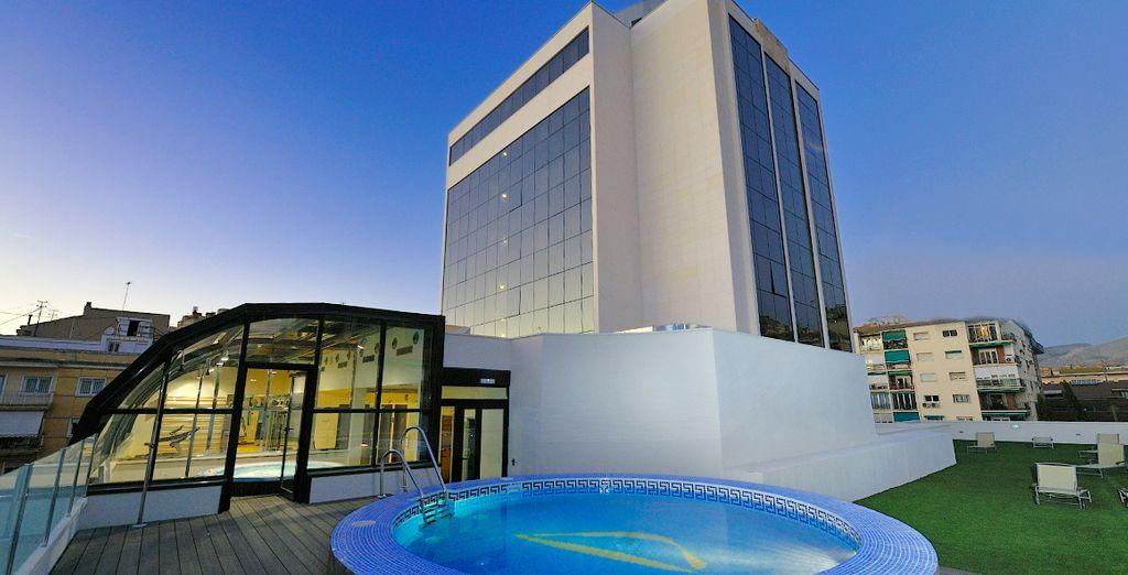 Bienvenido a Hotel Abba Granada 4*