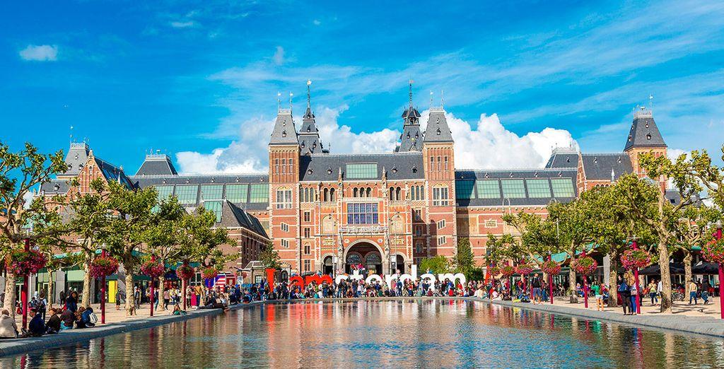 Visita el Rijksmuseum, el Museo Nacional de Ámsterdam