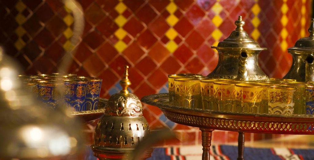Prueba los tés e infusiones árabes