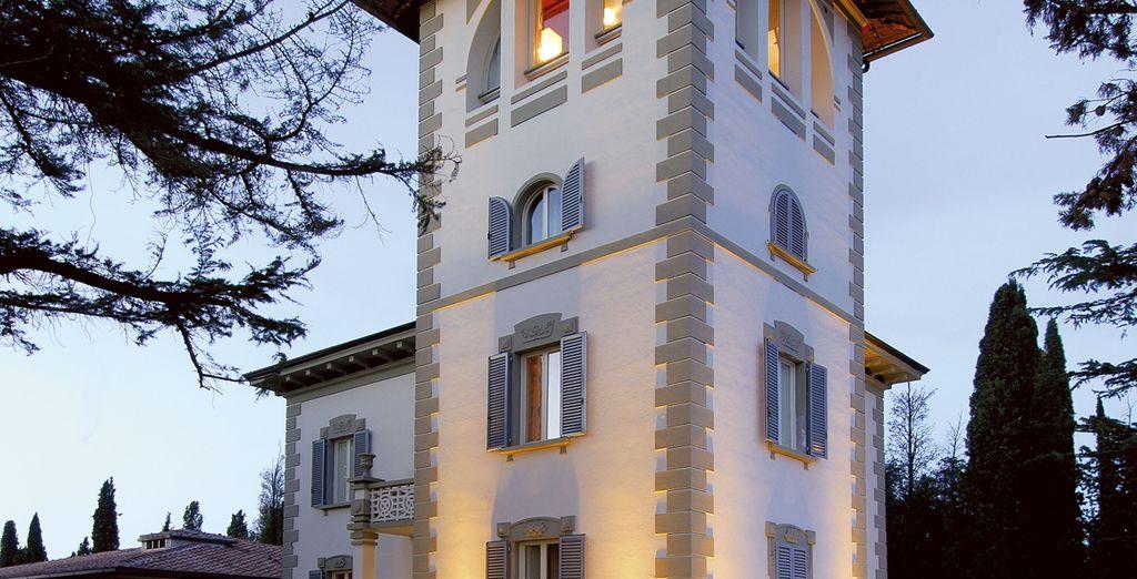Descubre esta villa de estilo Art Nouveau
