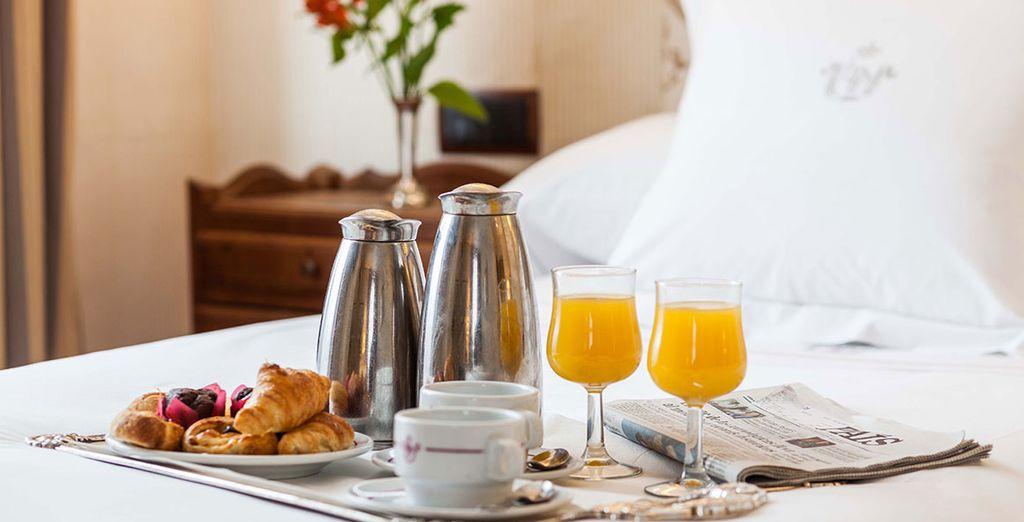 Disfrutarás de desayuno incluido