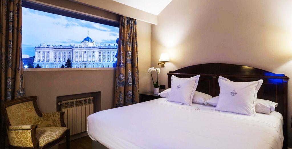 Descansa en tu habitación Superior con espectaculares vistas