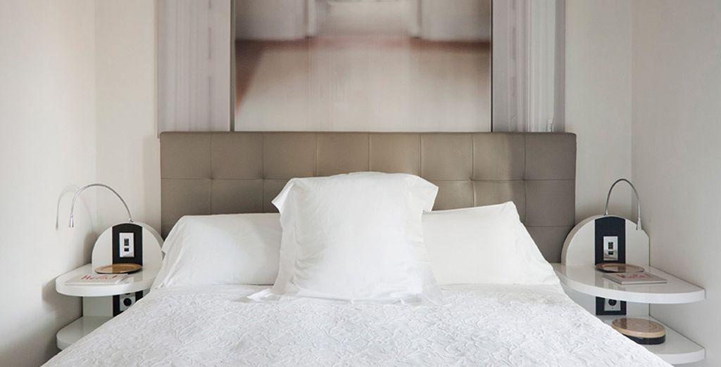 Disfruta de todas las comodidades de tu Suite Mezzanine Tibidabo