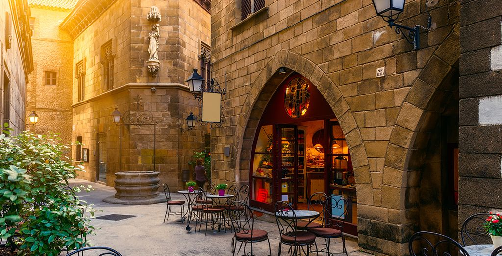 Recorre los encantos del barrio gótico
