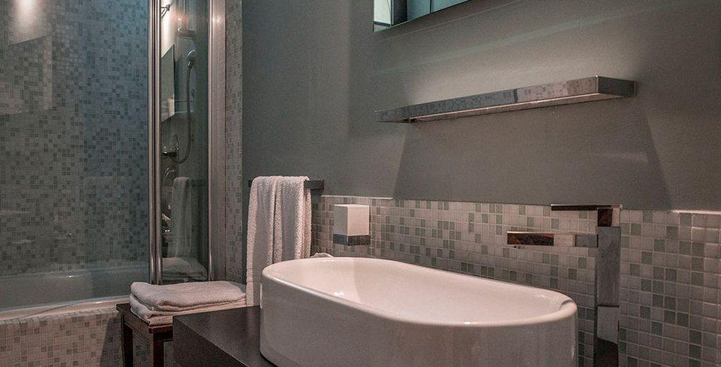 Disfruta de tu baño perfectamente equipado
