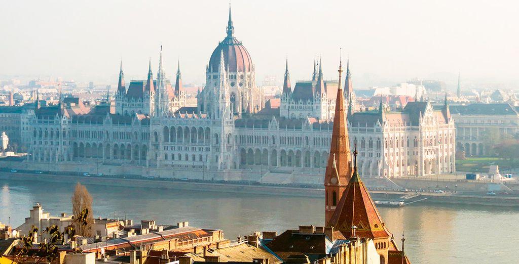El cuarto día, pondrás rumbo a Budapest