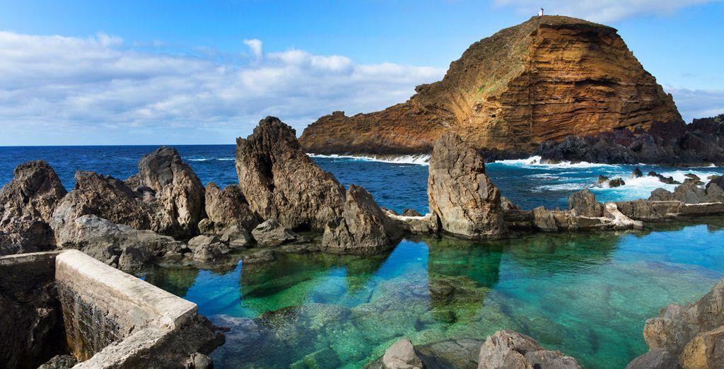 Las piscinas naturales de Porto Moniz, el lugar perfecto donde desconectar de la rutina