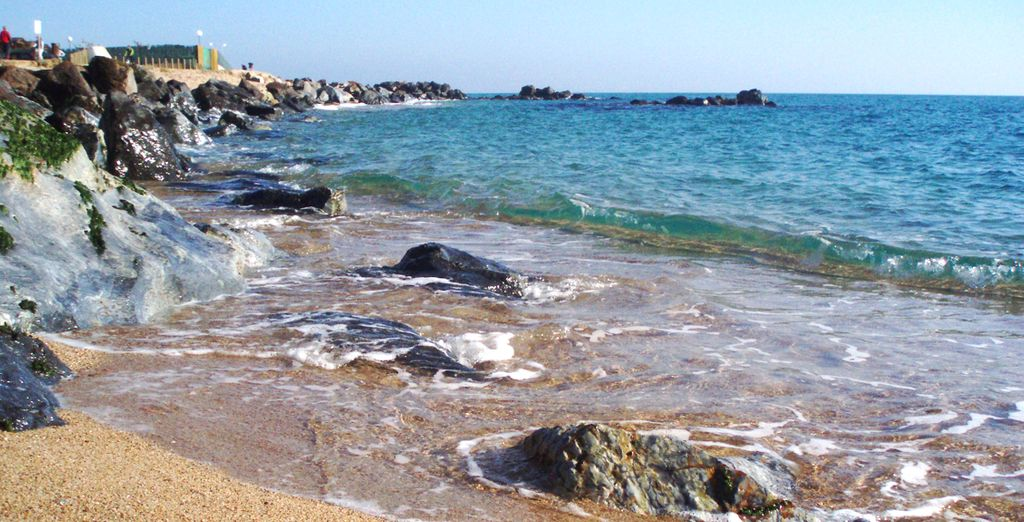 Santa Susanna tiene más de 2 kilómetros de playas