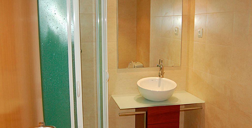 Tu cómodo apartamento cuenta con todo lo necesario para tu estancia