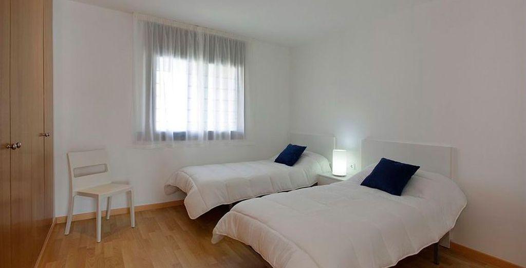 Habitaciones cómodas para un perfecto descanso