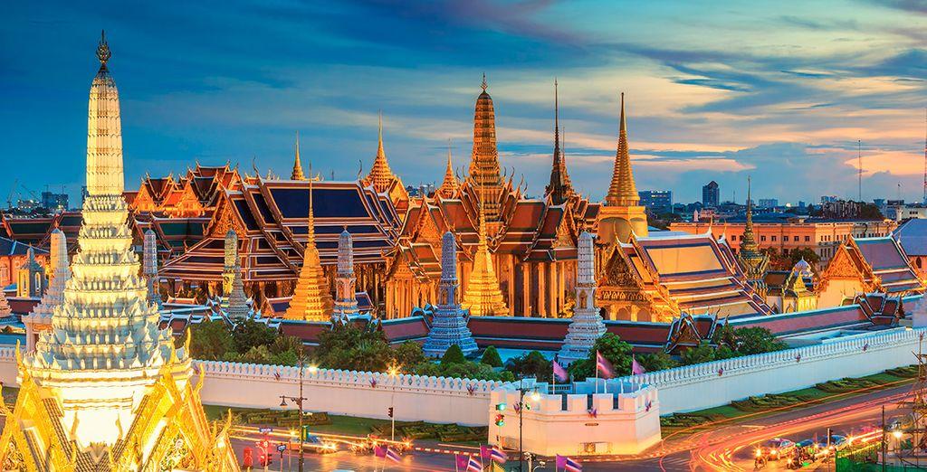 Comenzarás tus vacaciones en Bangkok