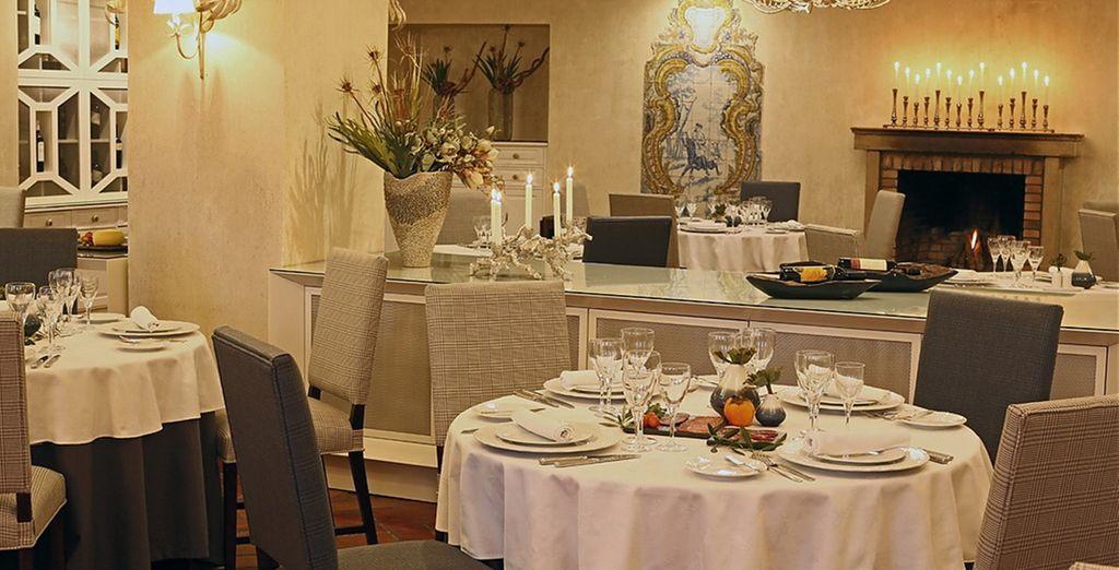 El restaurante Alentejo à Mesa sirve cocina típica portuguesa...