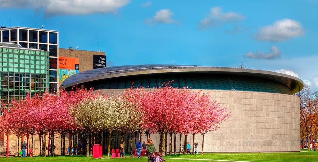 ...y del Museo Van Gogh