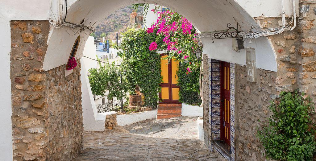 La antigua puerta de la ciudad de Mojácar