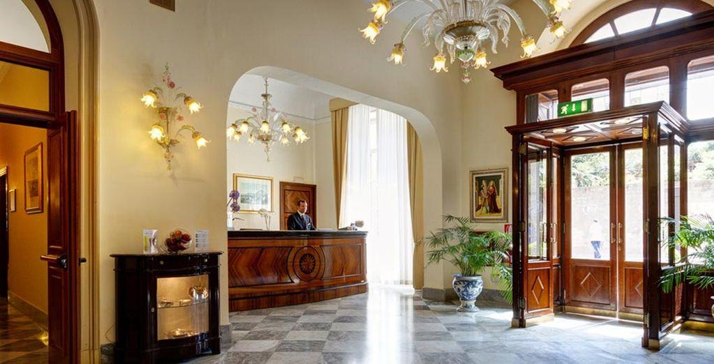 Un hotel clásico y auténtico