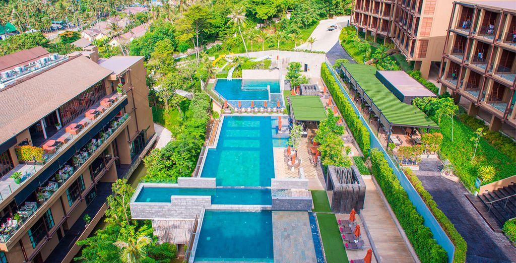 En el Hotel Sunsuri Phuket encontrarás todo lo necesario para pasar unas vacaciones impresionantes
