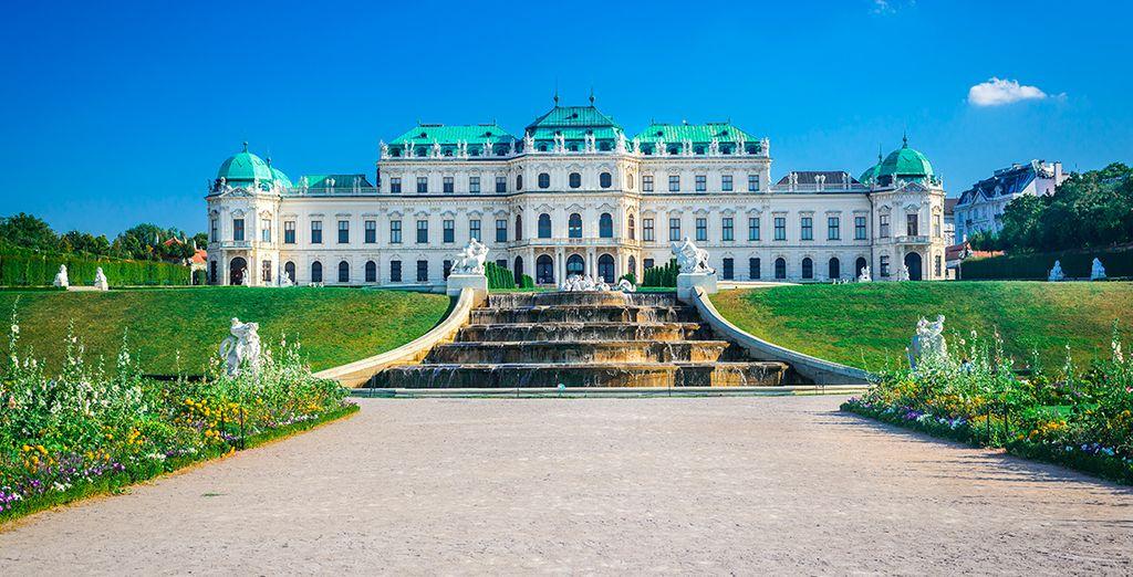 No puedes perderte el Palacio de Belvedere