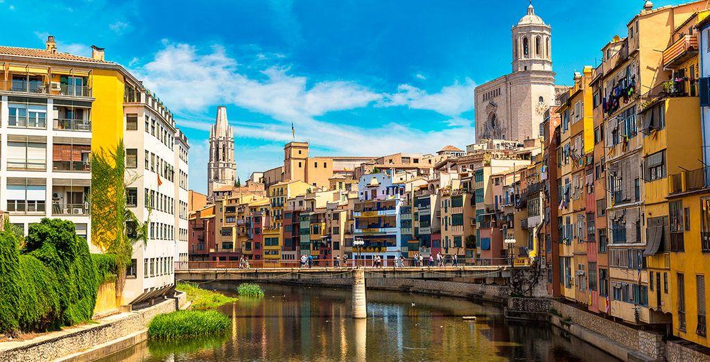 Acércate a Girona, te encantará