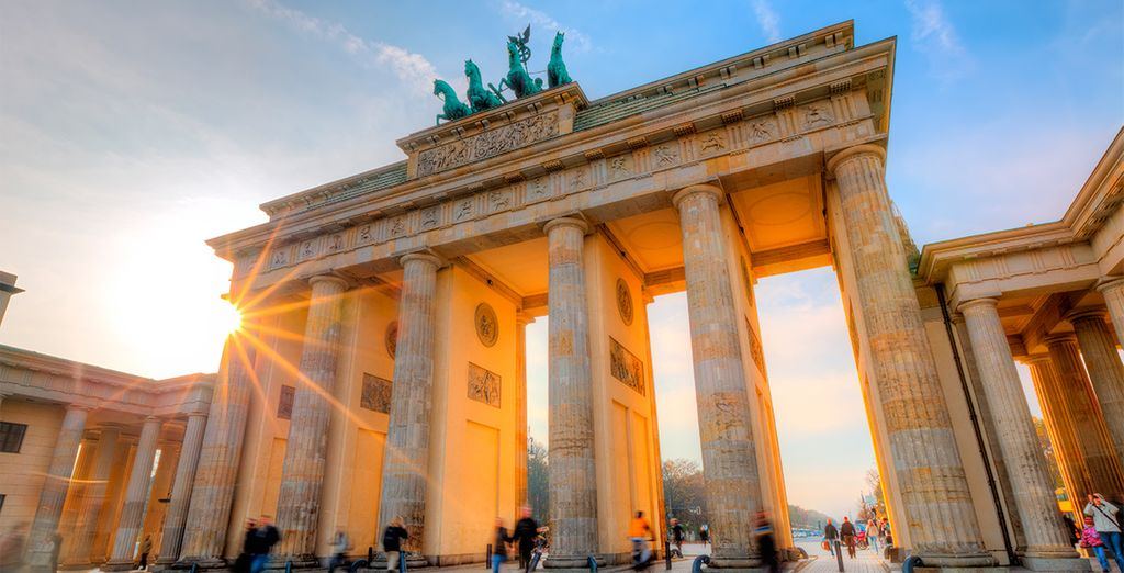 La puerta de Brandenburgo, icono de Berlín