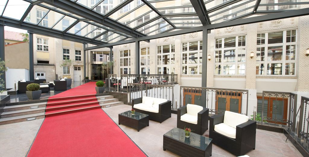 Hotel Wyndham Garden Berlín Mitte 4*, Berlín