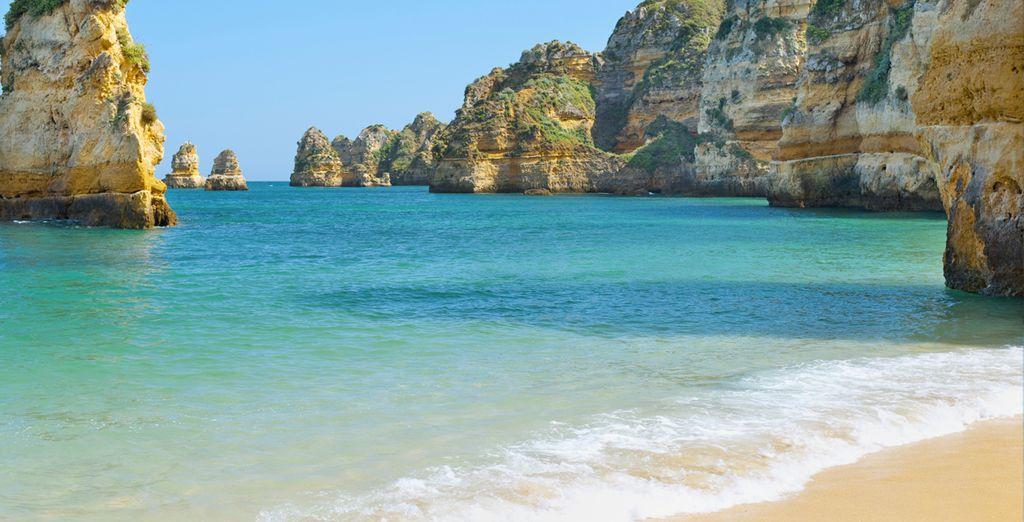 Las playas del sur de Portugal...