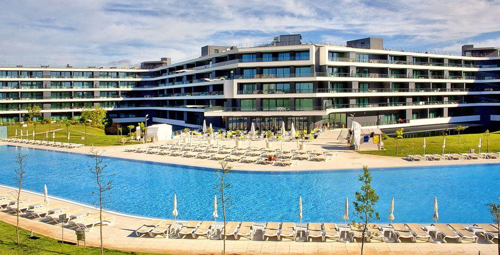 Un maravilloso hotel en el Algarve