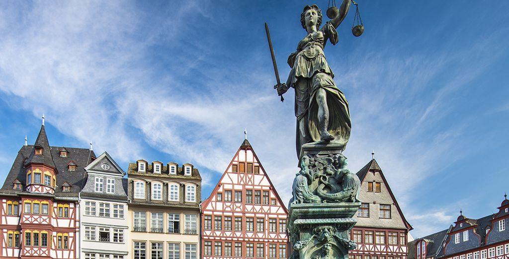 Tu primer destino será Frankfurt